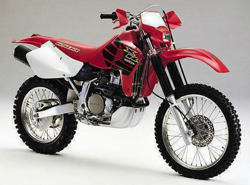 on 2000 Honda Xr 600