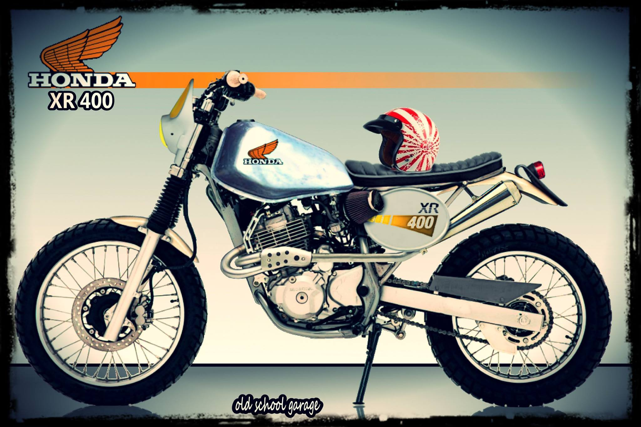 honda xr400 old school new school xr kings. Black Bedroom Furniture Sets. Home Design Ideas